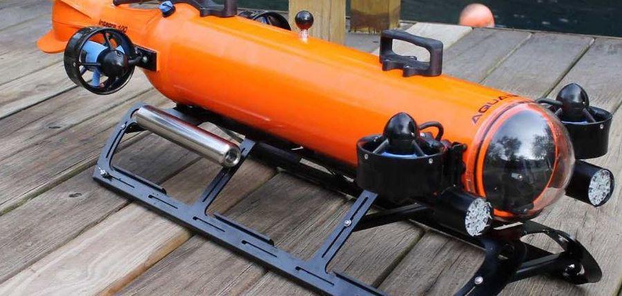 aquabotic sous marin