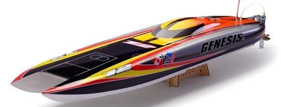 bateau telecommande vitesse