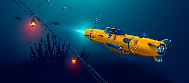 sous marin radiocommande